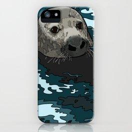 Grey Seal iPhone Case