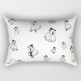 Pollitos Rectangular Pillow