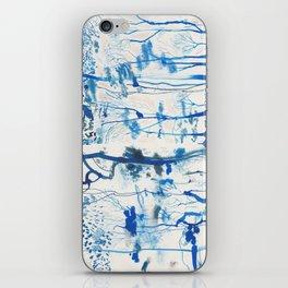 Durdle Door trees iPhone Skin