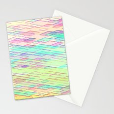 Re-Created Vertices No. 0 by Robert S. Lee Stationery Cards