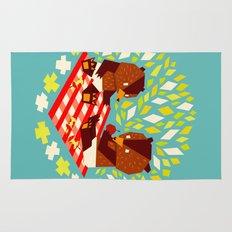 picknick bears Rug