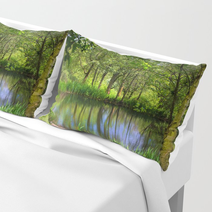 Spring views Pillow Sham