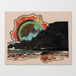 HEAT WAVES Canvas Print