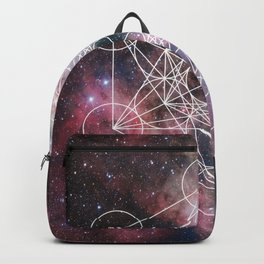 Sacred Geometry Poster Backpack