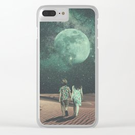 Moonlight Empire Clear iPhone Case