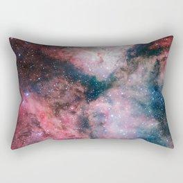 The Carina Nebula Astrophotography Space Art Rectangular Pillow