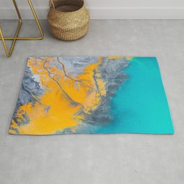 Abstract of minerals Rug