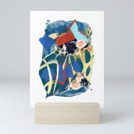 Something Blue Mini Art Print