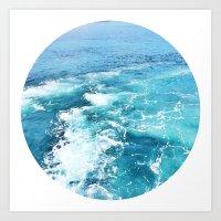 Vitamin Sea Art Print
