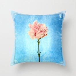 The flower shot! Throw Pillow