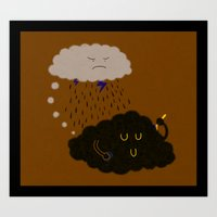 bad idea Art Prints featuring not a bad idea by Zachary Huang