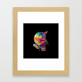 Perfume Phrenology Framed Art Print