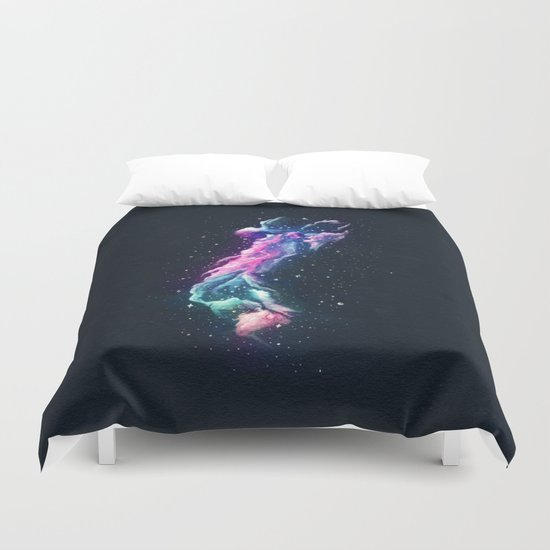 Tower Nebula Duvet Cover