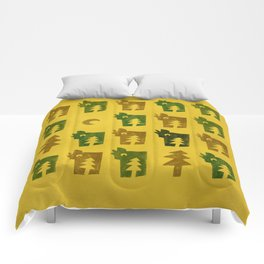 Woodragons Pattern Comforters