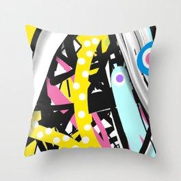 Defy Throw Pillow