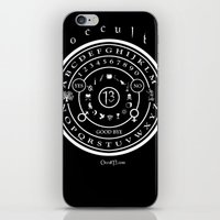 """occult iPhone & iPod Skins featuring Everette Hartsoe's Occult 13 """"SPIRITBOARD"""" by House of Hartsoe"""