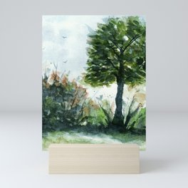 A Lovely Day, Abstract Landscape Art Mini Art Print