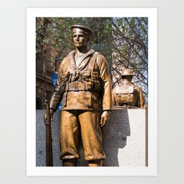 """Lest We Forget"" Sydney Cenotaph Art Print"