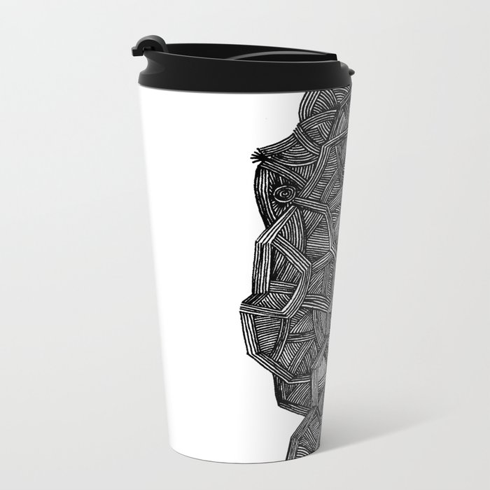 - I see a darkness - Metal Travel Mug