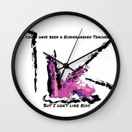 Kindergarden Wall Clock