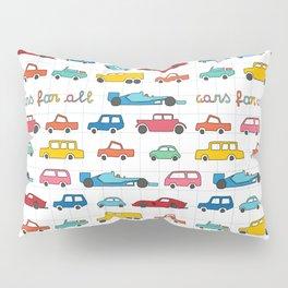 Cars for all Pillow Sham