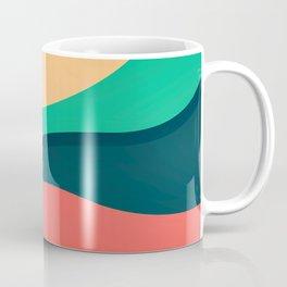 The river, abstract painting Coffee Mug