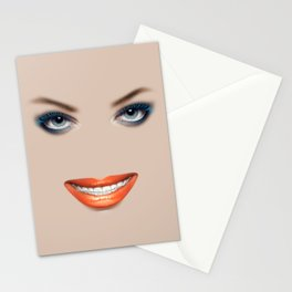 A better smile Stationery Cards