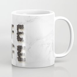 "Coffee Beans Spelled ""Coffee"" Coffee Mug"