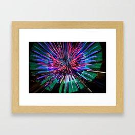 Night Light 144 - Wheel Framed Art Print