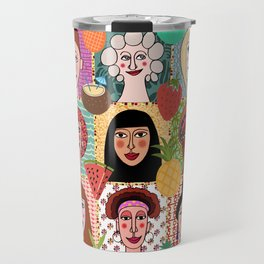 the colors of women Travel Mug