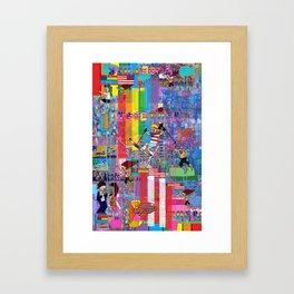 12 Digital 1 Framed Art Print