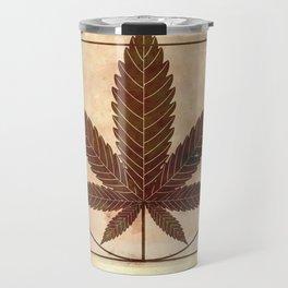vitruvian marijuana Travel Mug