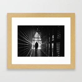 A Living Legend Framed Art Print