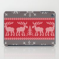 sweater iPad Cases featuring Sweater Weather by K&C Design