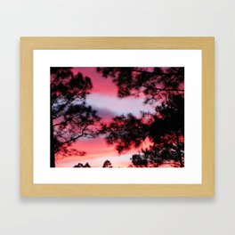 Georgia Sky Framed Art Print