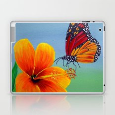 Lily with Butterfly Laptop & iPad Skin