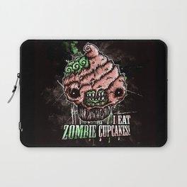 I Eat Zombie Cupcakes! Laptop Sleeve