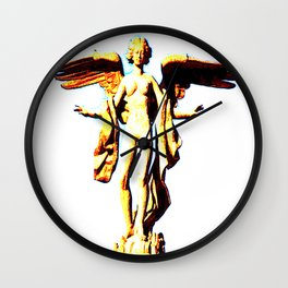 Victoria Alada  ( Winged Victory) Wall Clock