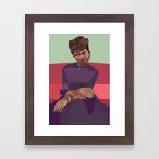 Aretha Framed Art Print