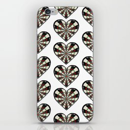 Don't use my heart as a Dartboard iPhone Skin