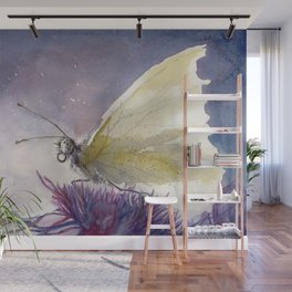 Dancing With Moonlit Wings Wall Mural