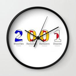 2001 - NAVY - My Year of Birth Wall Clock