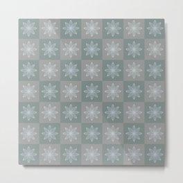Lotos pattern Metal Print