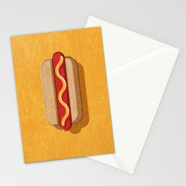 FAST FOOD / Hot Dog Stationery Cards