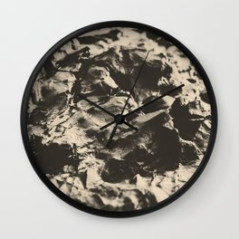 Beach Rock Wall Clock