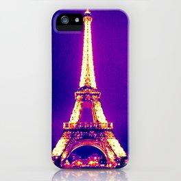 Parisian Purple iPhone Case