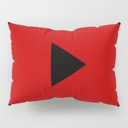 Play Button Pillow Sham