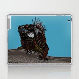 iguana blue Laptop & iPad Skin