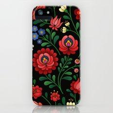 Hungarian flowers iPhone (5, 5s) Slim Case