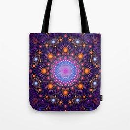 """""""Guardian"""" Mandala painting Tote Bag"""